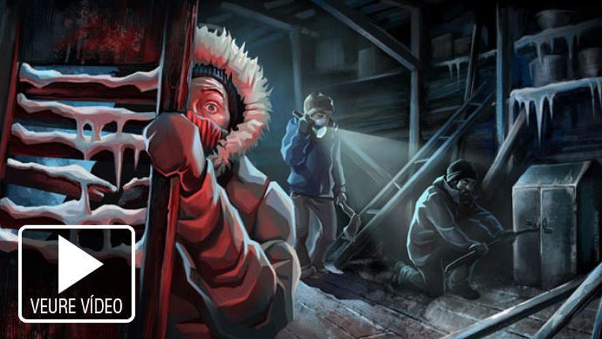 L'inquietant joc basat en «La Cosa» es trasllada a PS4