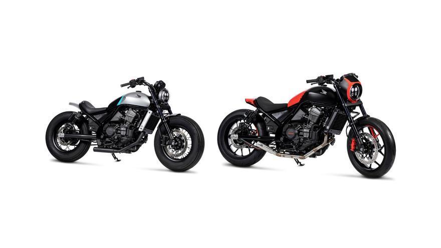 Honda presenta dos espectaculares CMX1100 Rebel customizadas