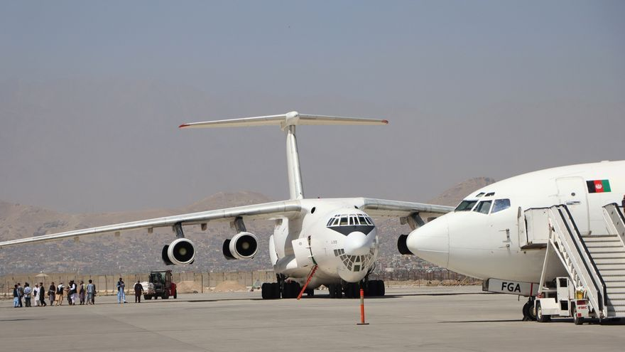 Estados Unidos suspende sus vuelos de evacuación de Kabul por un brote de sarampión