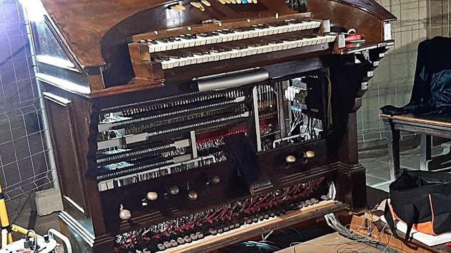 Cardona inaugura demà l'orgue restaurat de l'església de Sant Miquel