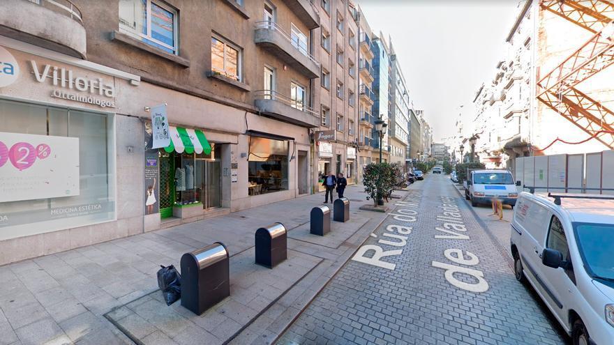 Once personas de fiesta se enfrentan a la Policía de Vigo de madrugada