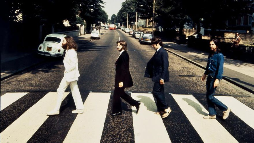 Los Beatles vuelven a cruzar Abbey Road