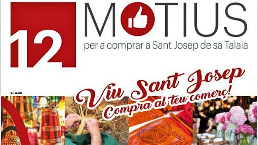Sant Josep ofrece doce razones para comprar en el comercio local