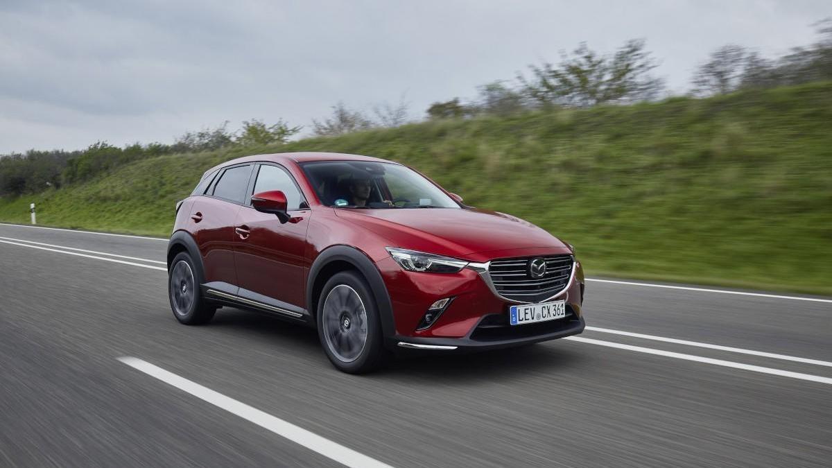 Mazda actualiza el CX-3 con un nuevo motor y mejoras en diseño y tecnología