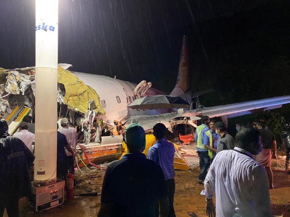 Plane crash in Kerala