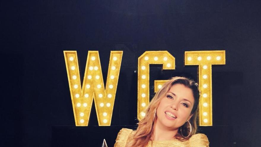 La cantante Cristina Ramos, finalista en el World Got Talent de China