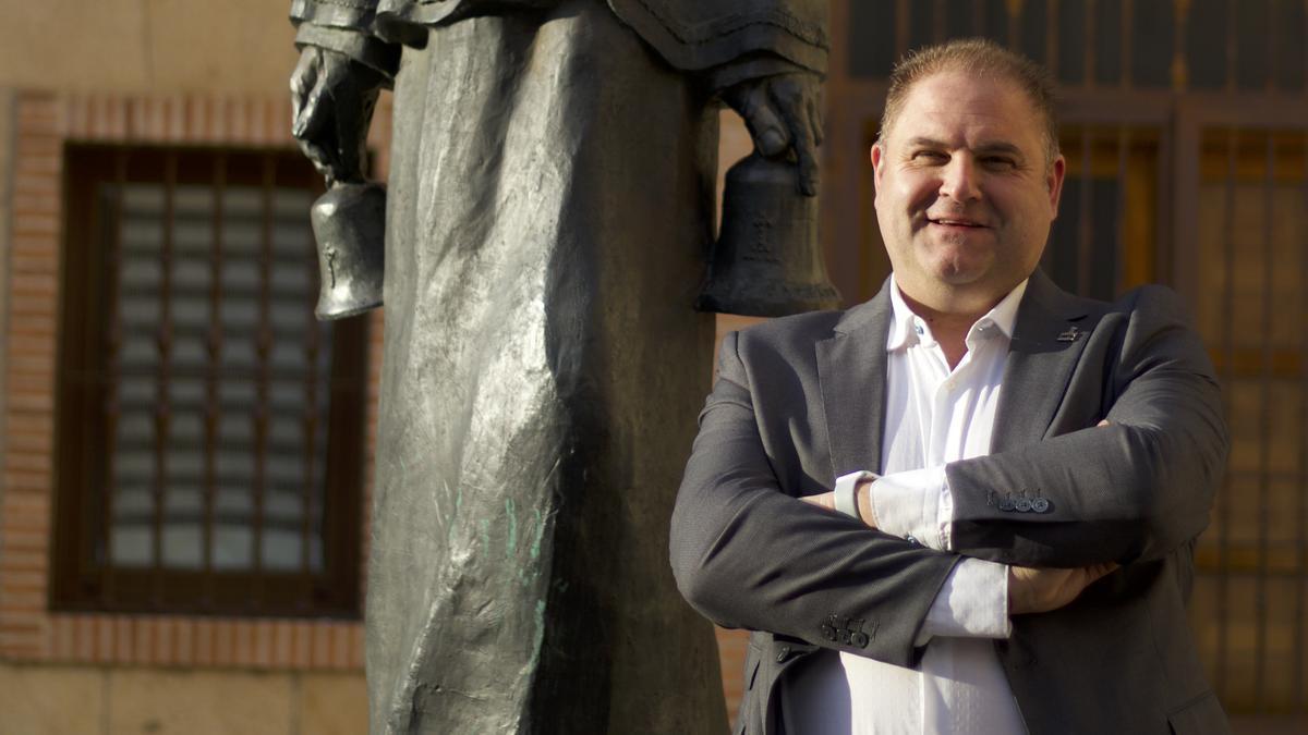 Israel Velasco de Fuentes, candidato a presidir el Santo Entierro