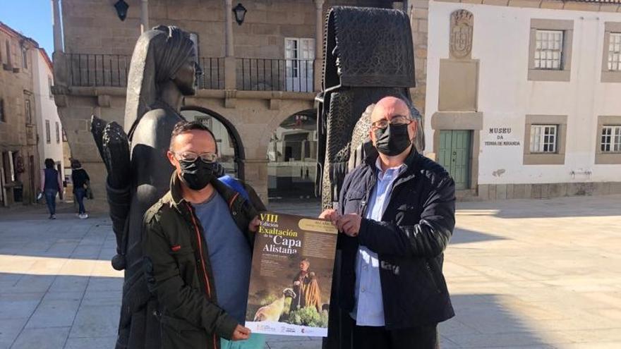 La Asociación de la Capa Alistana promociona su fiesta en Portugal
