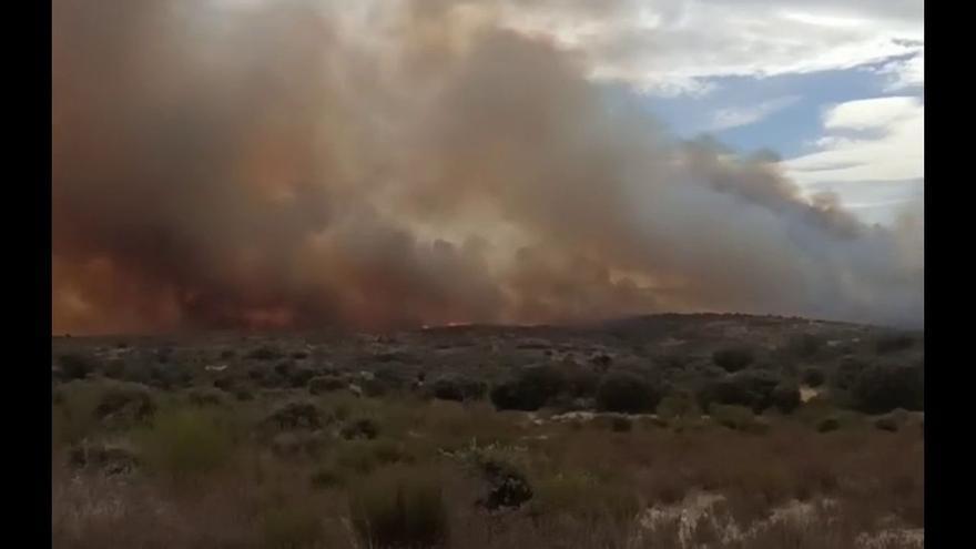 Incendio en Carbajosa de Alba
