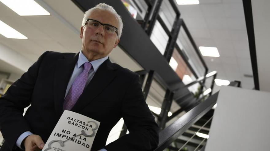 L'exjutge Baltasar Garzón qüestiona l'actuació de Marchena en el judici del procés