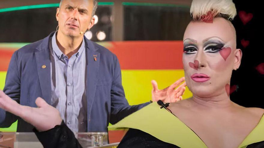 """Una drag queen valenciana defiende a Vox y critica al colectivo LGTBIQ+: """"Es una secta"""""""