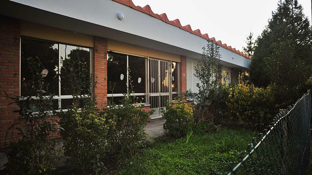 La vieja unitaria de Monte da Vila, reformada para poder atender a las personas mayores.