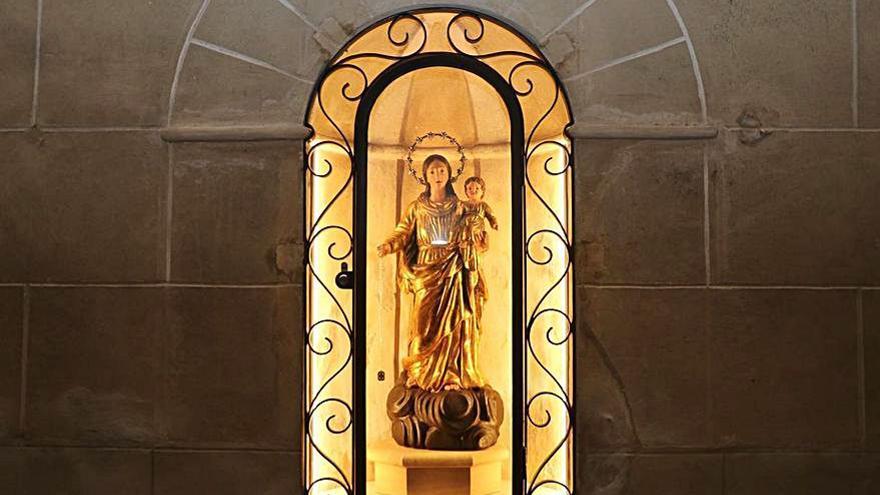 Restaurada la Mare de Déu de Santanyí