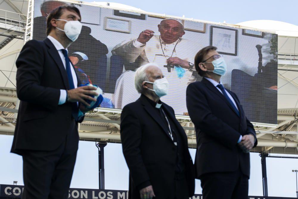 Videoconferencia Papa Ciutata de València Escholas Occurrentes
