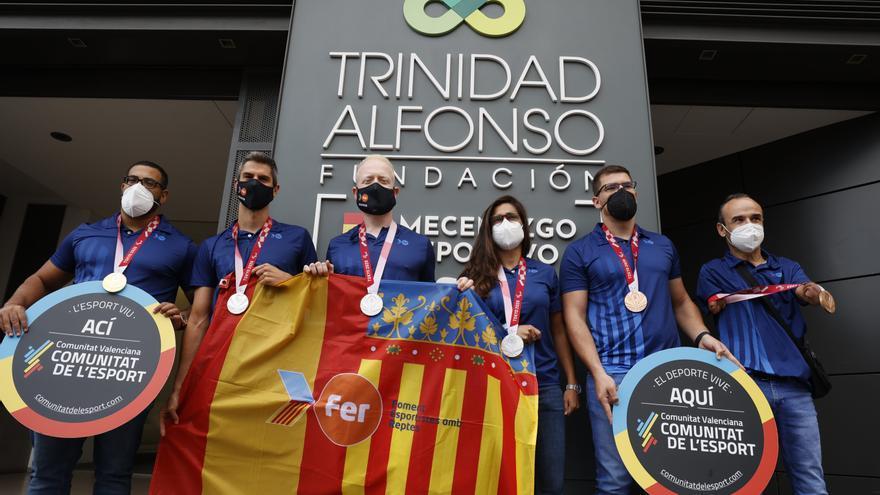 Los pararalímpicos valencianos y el Maratón de València, entre los premiados en el 9 d'Octubre