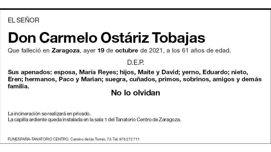 Carmelo Ostáriz Tobajas