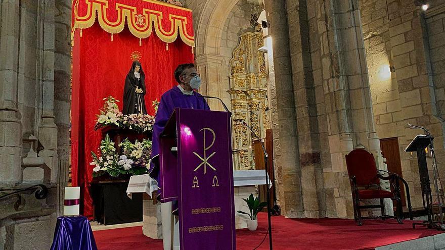 Jesús Nazareno de Zamora inicia el Quinario en honor a la Soledad