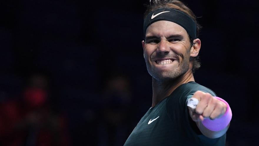 Horario y dónde ver el Nadal-Medvedev de las Finales ATP