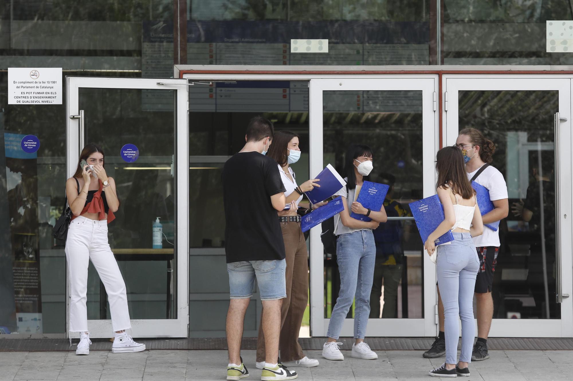 A la UdG, classes al 70% d'aforament