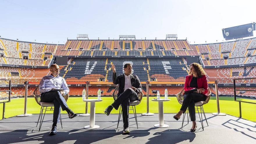 Anil Murthy habla de los planes de futuro del Valencia