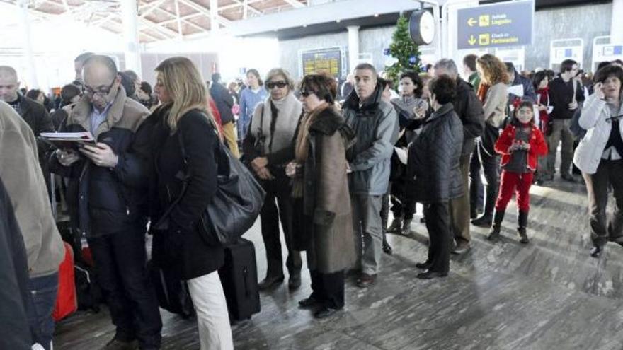 La huelga en el Aeropuerto de Zaragoza