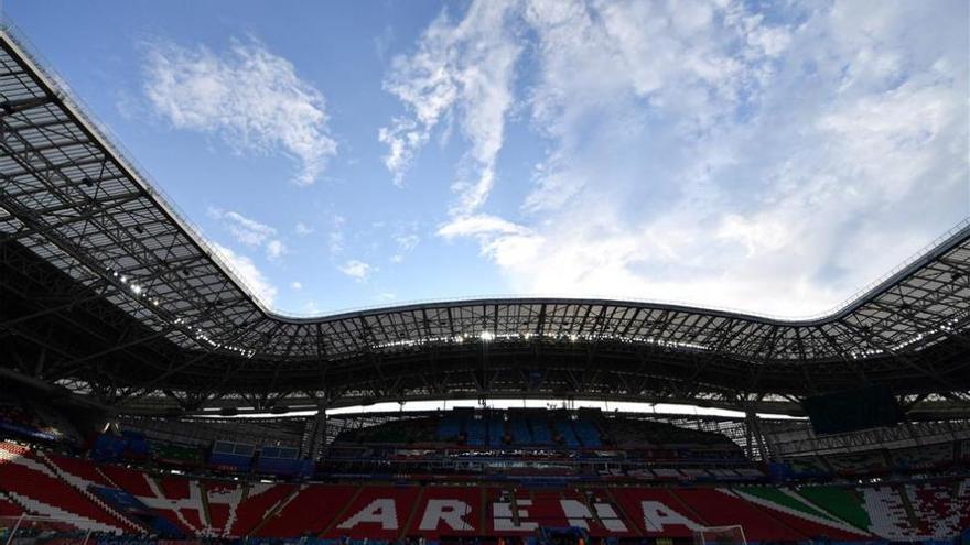 El Kazan Arena, un estadio de diseño que también fue piscina