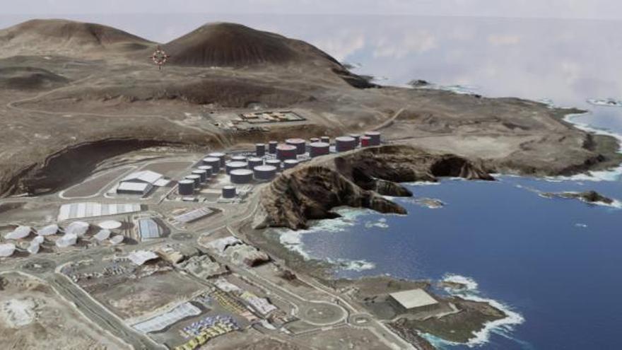 Oryx ampliará su terminal para ofrecer gasolina y queroseno