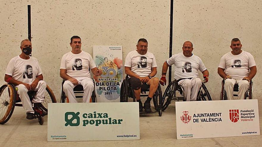 Julio de Oliva suma su décimo título autonómico en raspall adaptado