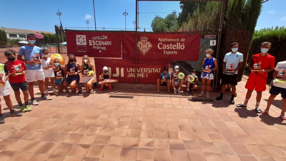 Gran éxito del prestigioso torneo Warriors Tour en el Club de Tenis Castellón