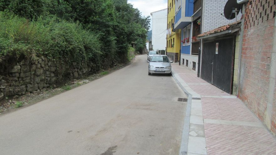 La Calzada de Ponga, en Cangas de Onís, a punto de ensancharse