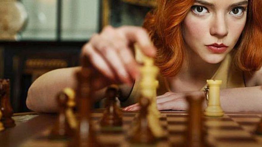 La serie 'Gambito de dama' de Netflix sube las ventas de tableros de ajedrez