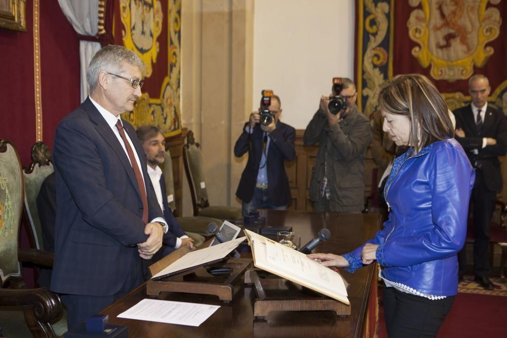 Toma de posesión de los vicerectores de la Universidad de Oviedo
