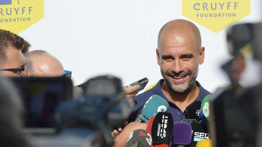 """Guardiola: """"Estic aplicant les mateixes idees que amb el filial del Barça"""""""