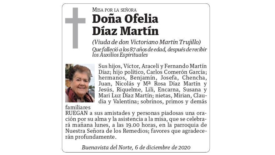 Ofelia Díaz Martín
