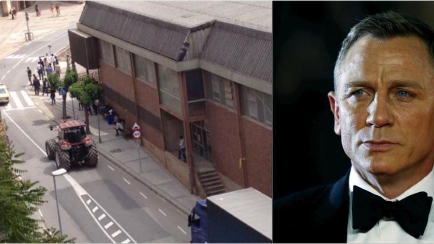 El James Bond, Daniel Craig, roda un anunci a Cardona