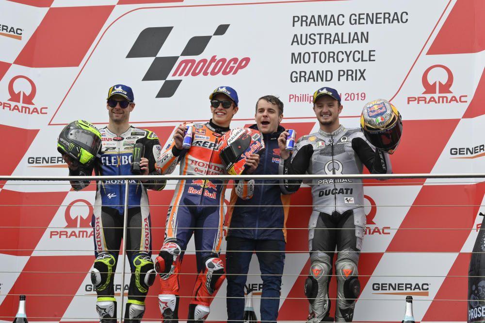 Carrera de MotoGP del GP de Australia