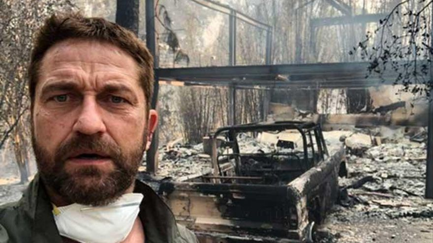 Las estrellas de Hollywood, devastadas por los incendios de California