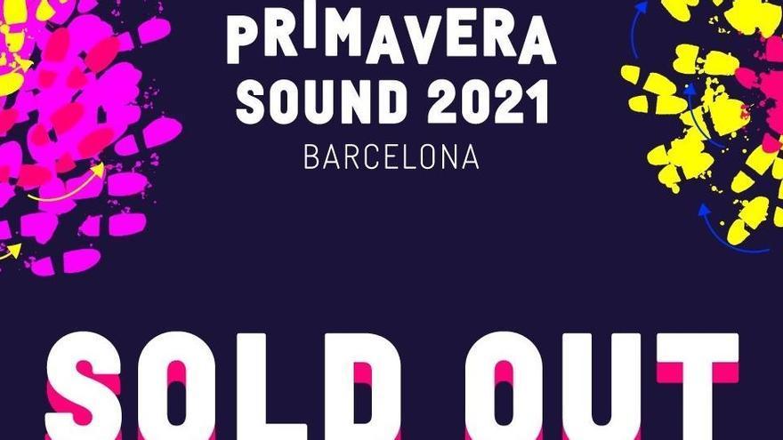 El Primavera Sound 2021 agota entradas en 10 días
