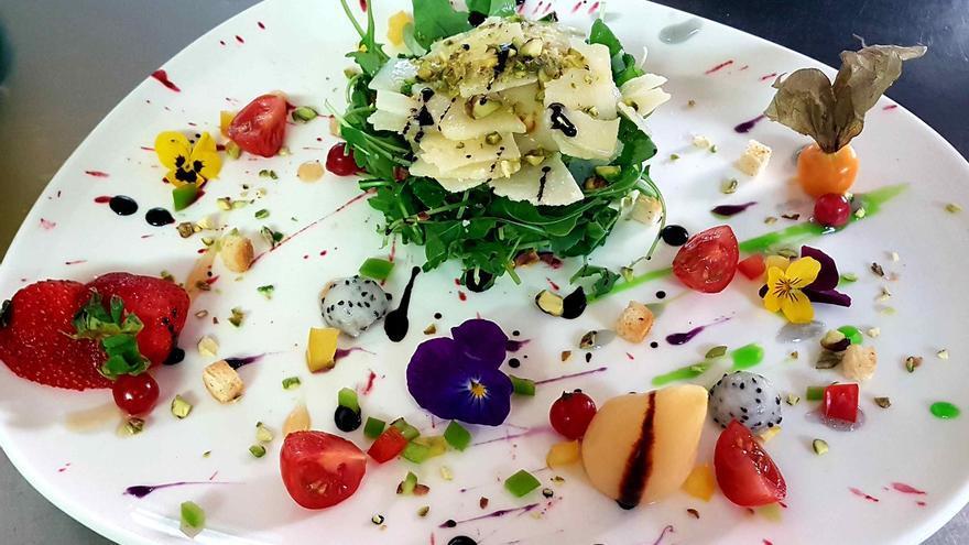Cas Carreter, cocina mediterránea, fresca y creativa