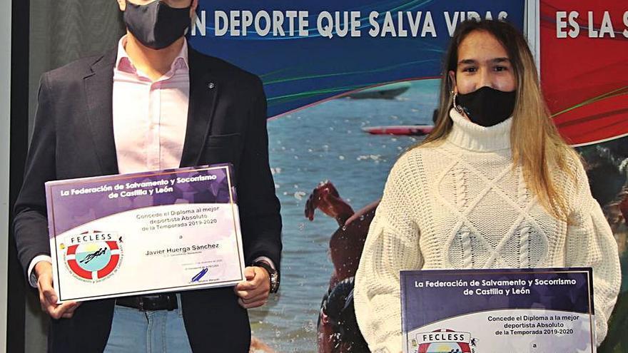 Javier Huerga y Carolina Ganado, protagonistas de la Gala de Salvamento y Socorrismo de Castilla y León