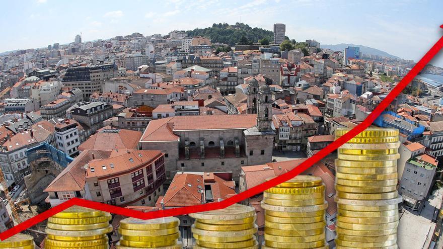 Hacienda sitúa por encima de los 8.178 millones el valor catastral de todos los inmuebles de Vigo
