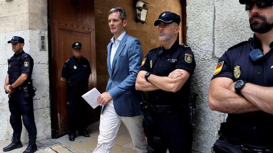 La Audiencia de Palma da hasta el lunes a Urdangarin para entrar en la cárcel