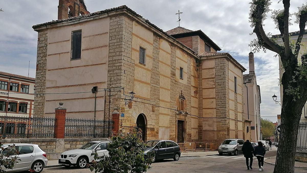 Iglesia de La Concepción en la que está previsto ejecutar las obras de mejora de la cubierta. | M. J. C.