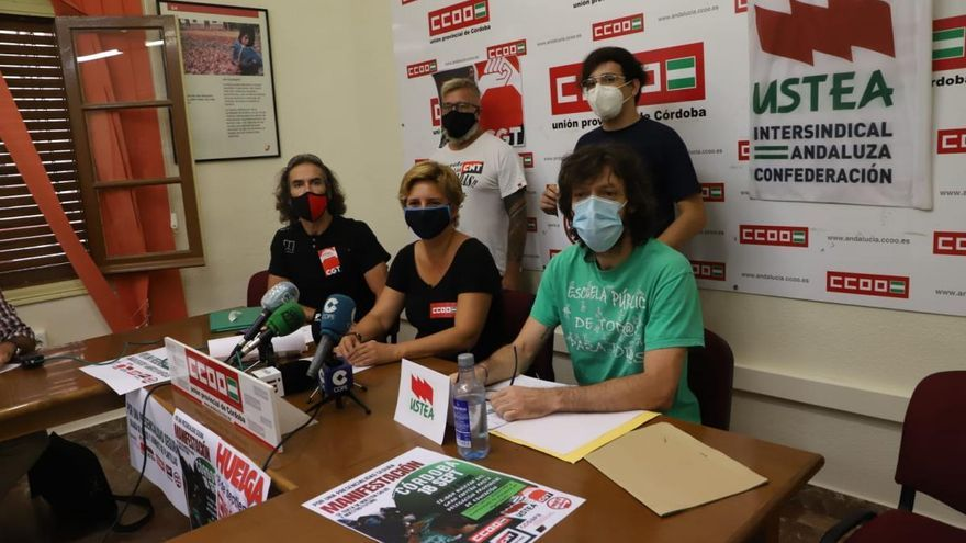 Los sindicatos llaman a la huelga este viernes por la falta de medios anticovid en los centros educativos