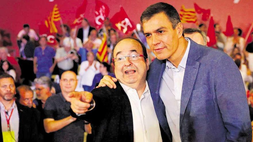 """El PSOE valora la """"generosidad"""" de Iceta y subraya su """"orgullo"""" por Illa"""
