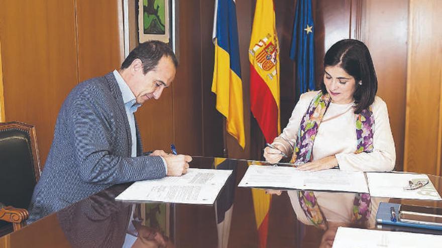 Obras Públicas y la UTE firman el contrato para continuar el Anillo