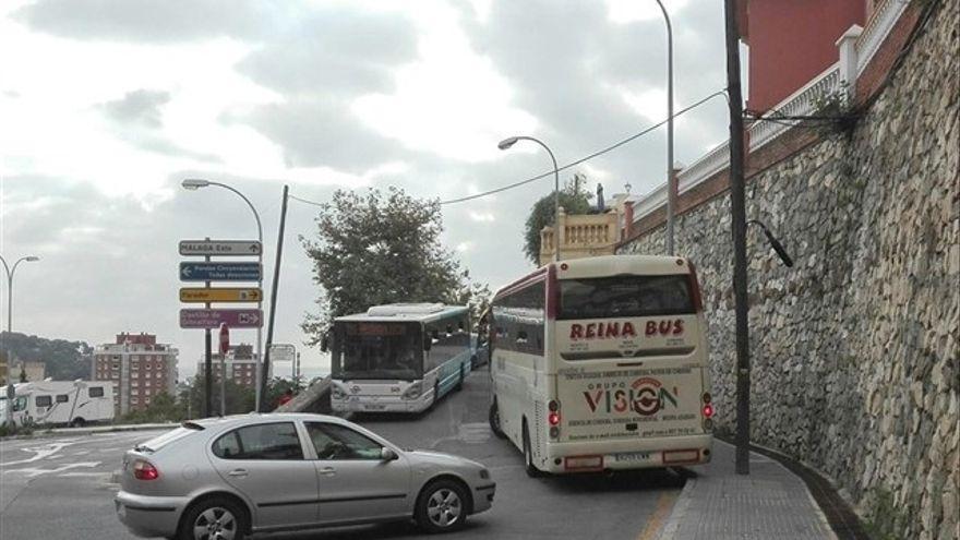 Adjudicada la ampliación de la carretera de acceso a Gibralfaro