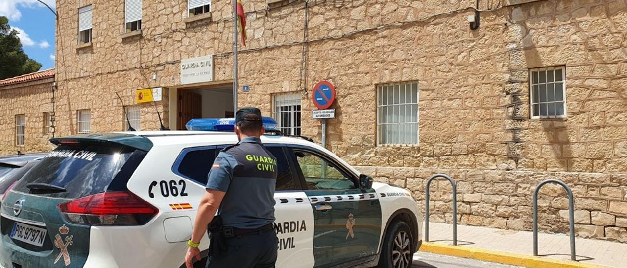 La denuncia se presentó en el puesto de la Guardia Civil de Novelda.