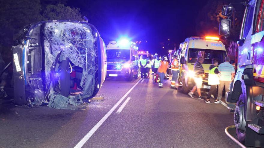 Reciben el alta 12 de los heridos en el accidente del autobús que transportaba trabajadores de PSA