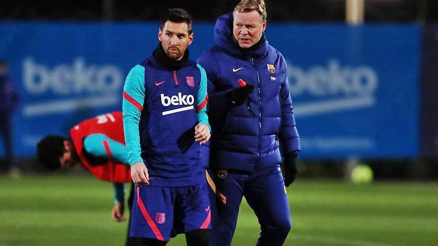 El Barça llega a Elche sin Messi y con tres prórrogas en apenas ocho días